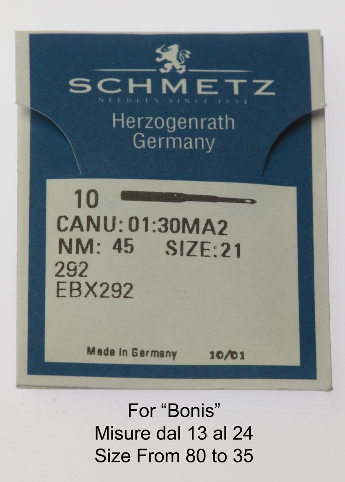 "Needles ""Schmetz"" System 292 Image"