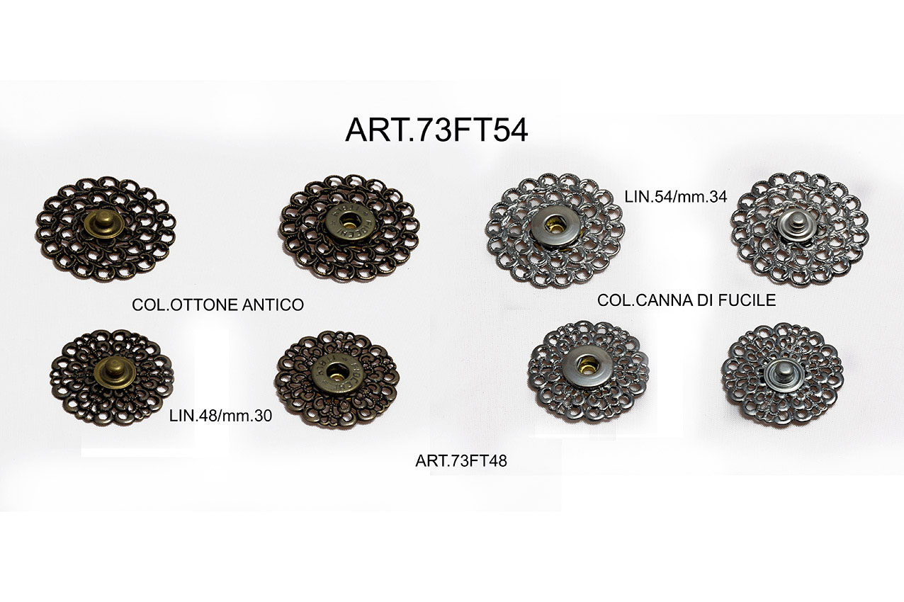SNAP FASTENERS ITEM 73FT54 - 73FT48 Image