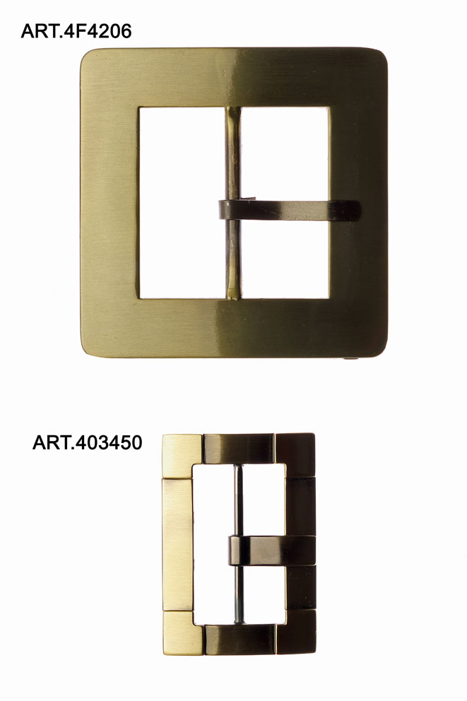 BRUSHED BRASS BUCKLES Image