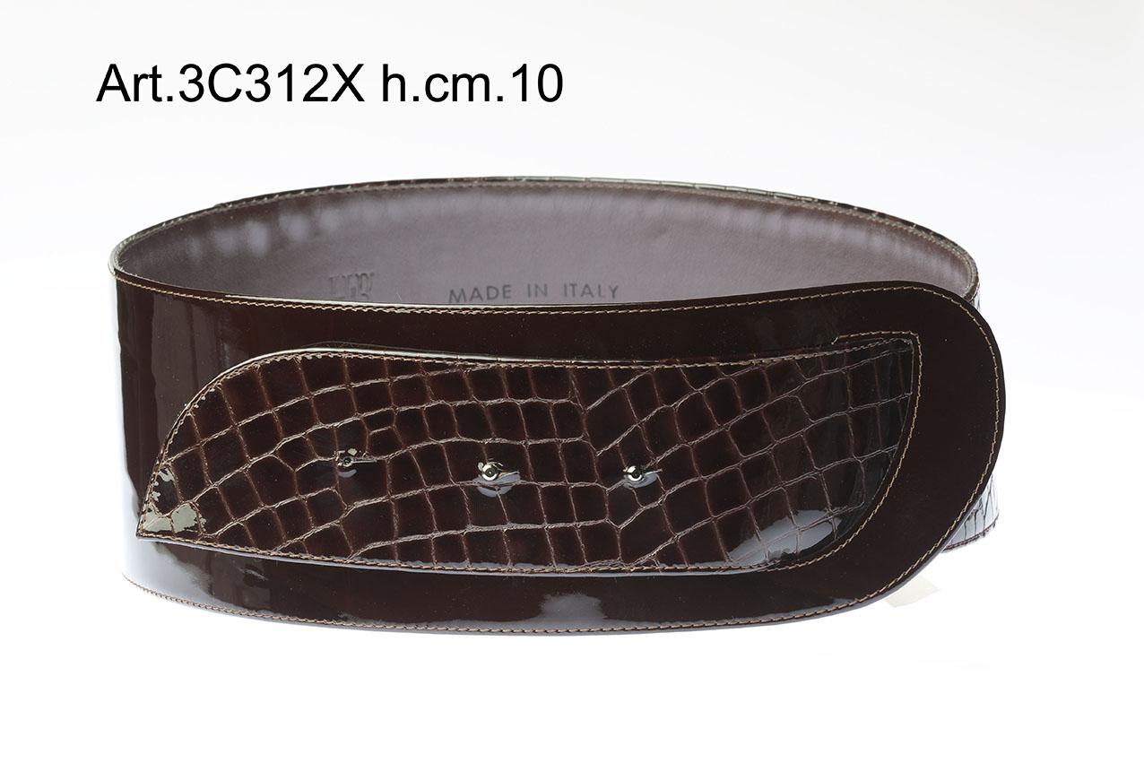 BELT PRINTED & PATENT LEATHER Item 3C312X Image