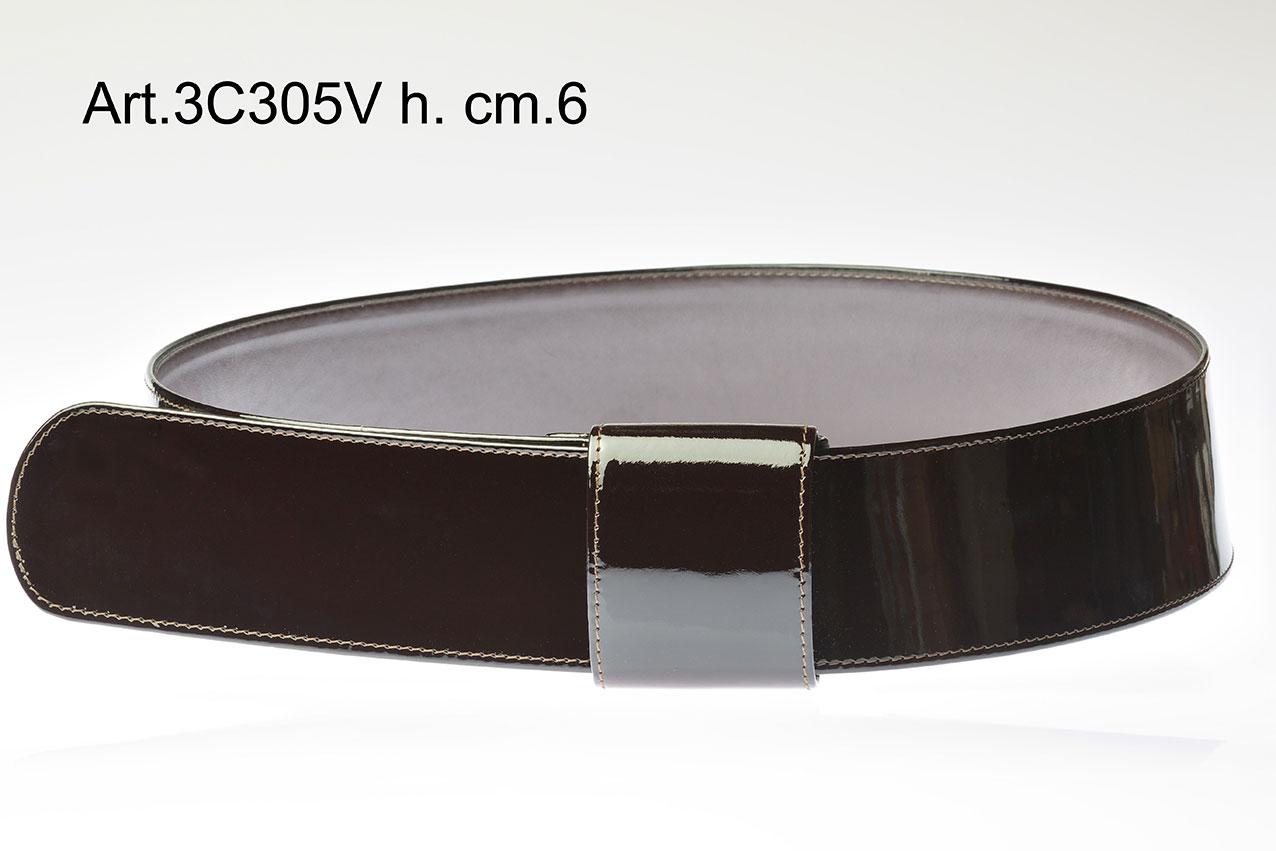 Patent leather belt Item 3C305V Image