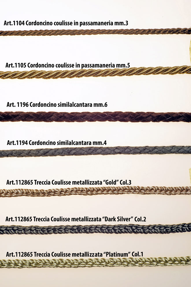 CORDS FOR DRAWSTRING Image