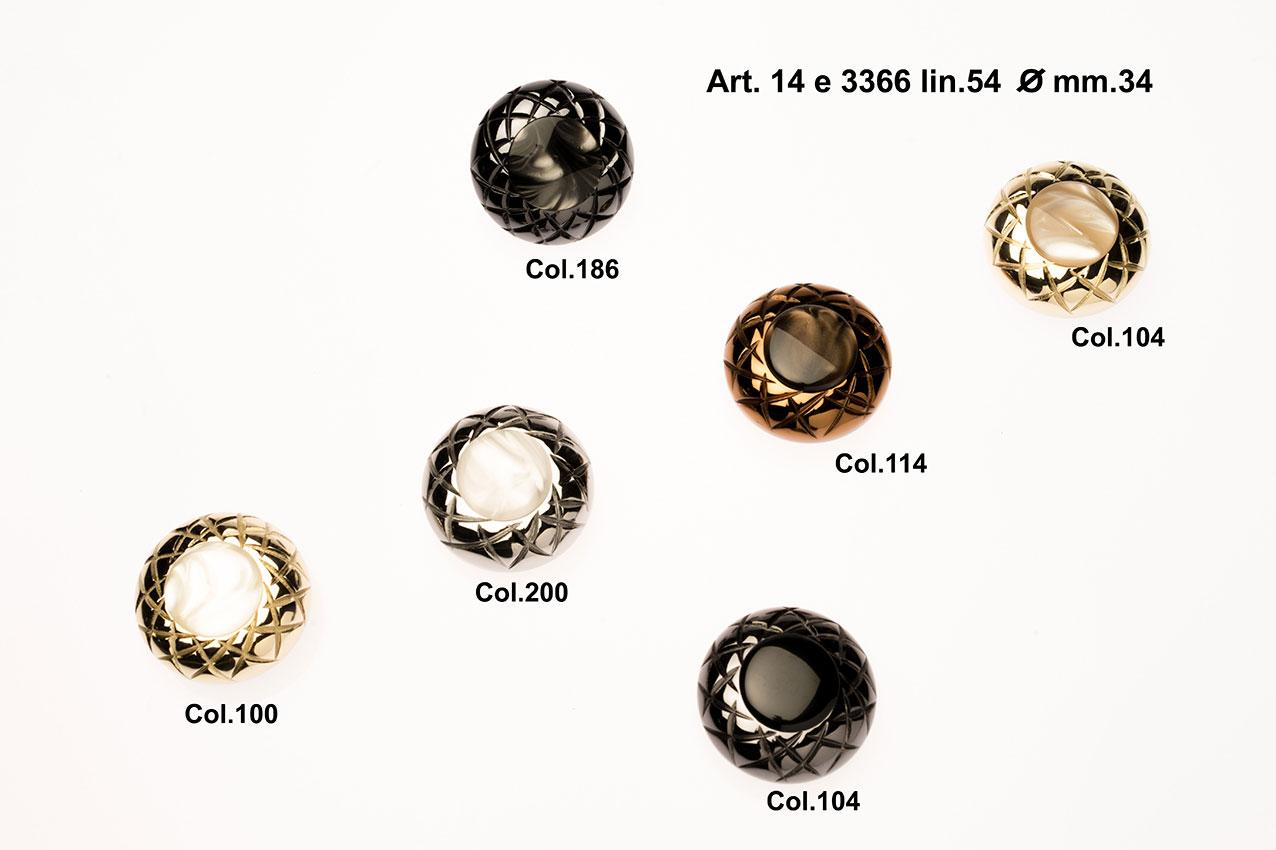 Buttons Item 14E3366 Image