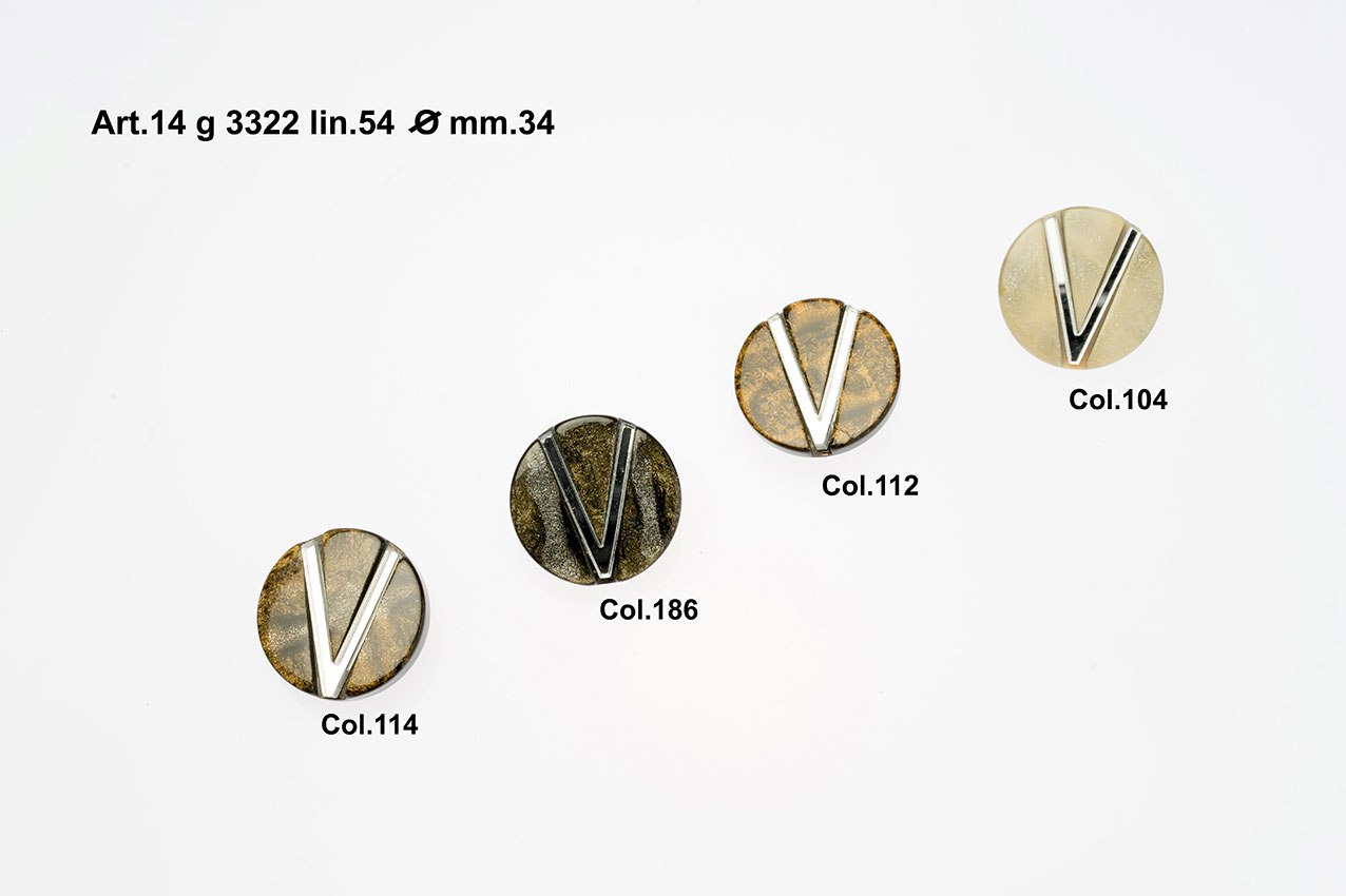 Buttons Item 14H3322 Image