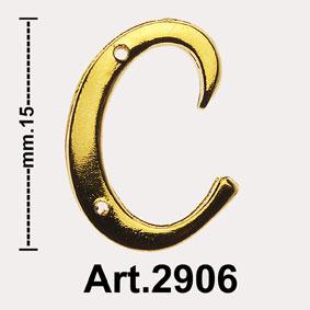 """INITIALS """"OTTONE LUCIDO"""" ART.2906 Image"""
