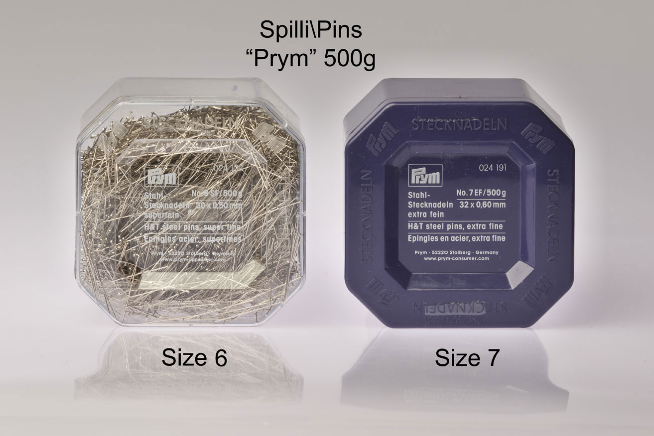 Extra Fine Pins 500g Image