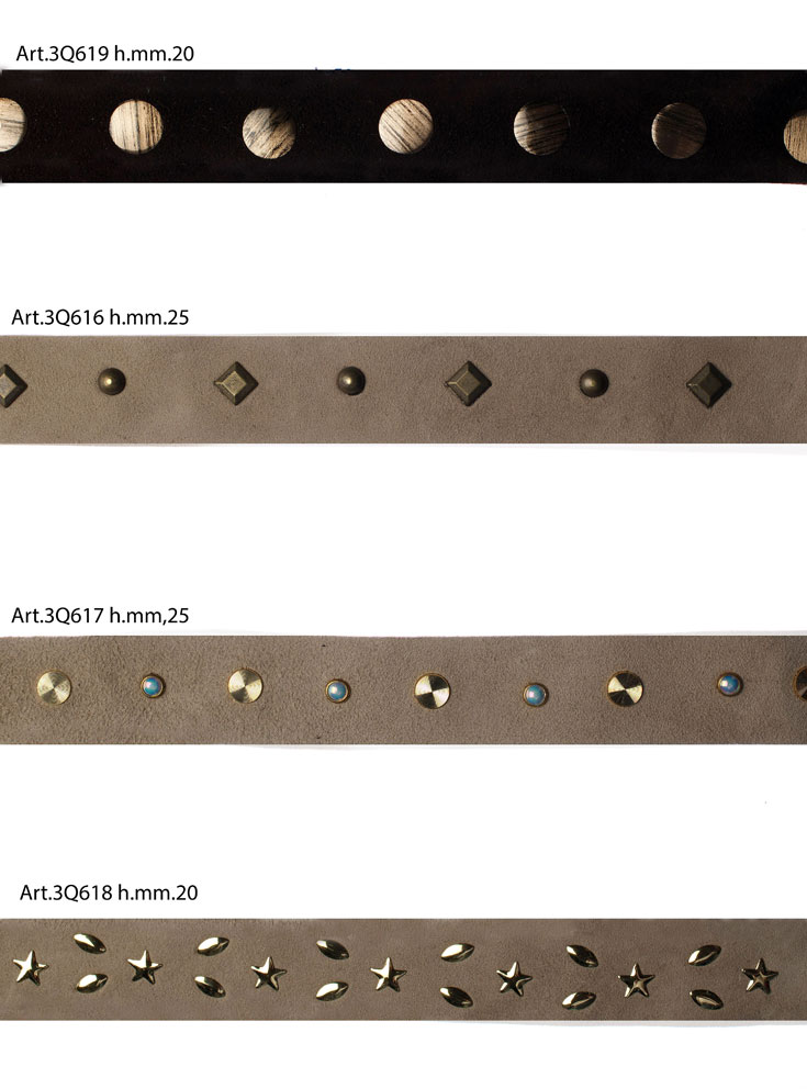 LEATHER TAPES  WITH STUDDED Image