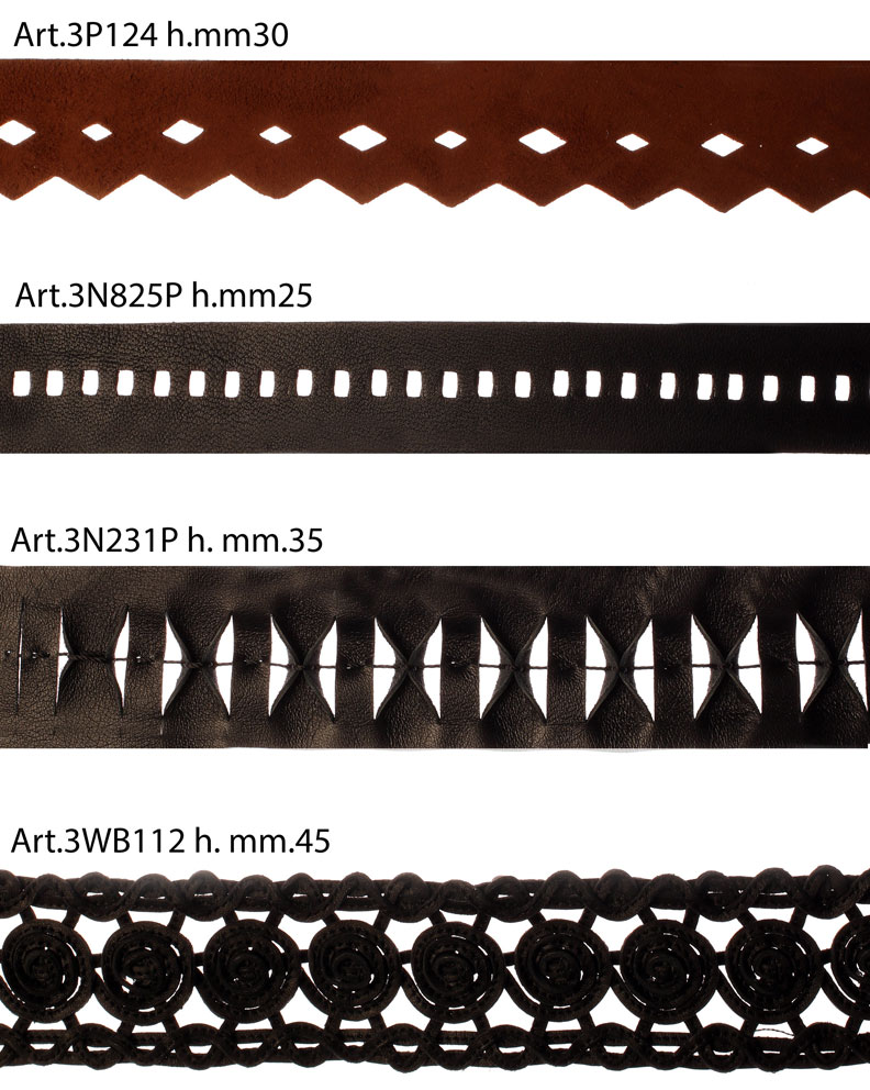VARIOUS TYPES OF INSERTS AND FINISHES Image