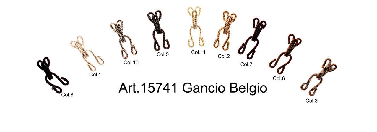 """HOOKS & EYES """"BELGIO"""" Image"""