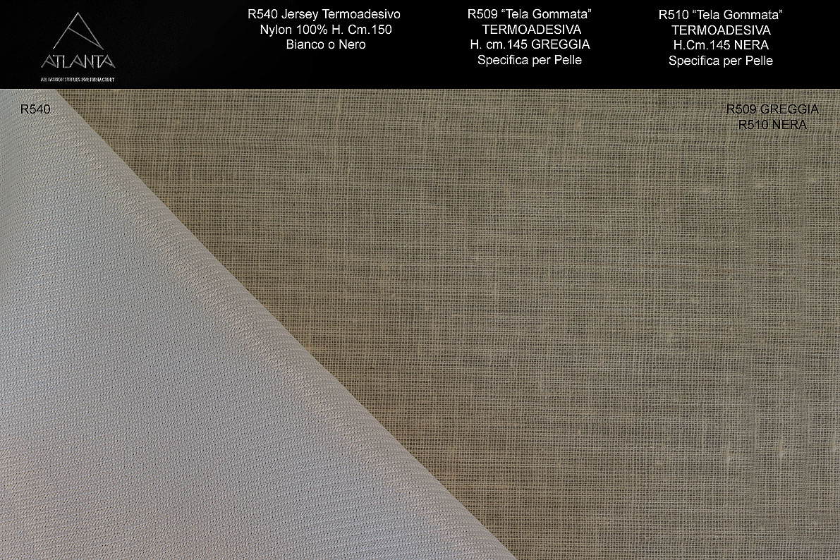 THERMO LEATHER FABRICS STICKERS Image