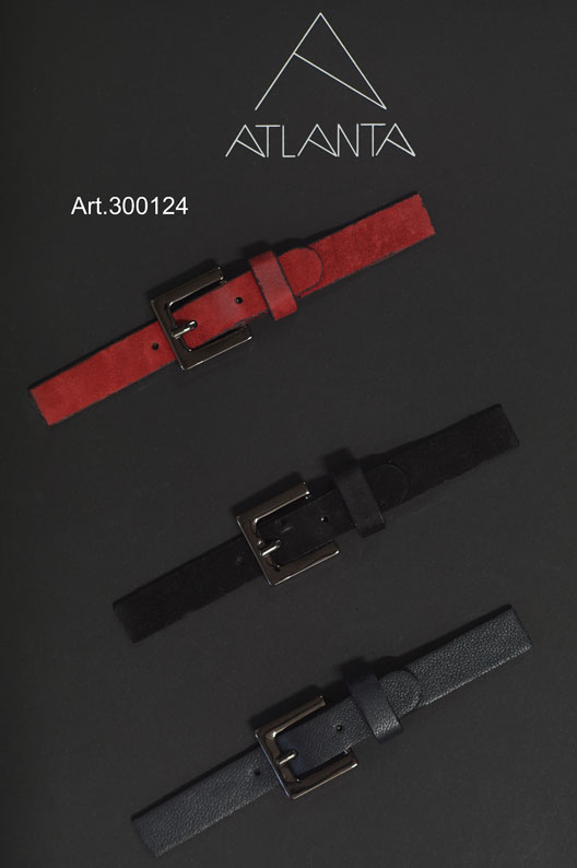 STRAPS WITH METAL BUCKLE Image
